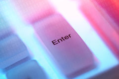 Computer key enter Stock Photos