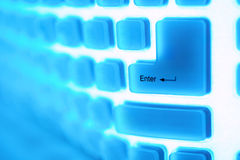 Computer key enter Stock Images