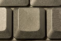 Computer key in a keyboard with letter, number and. Symbols Stock Image