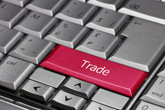 Computer Key - Trade Stock Photo