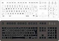 Computer keyboard Royalty Free Stock Image