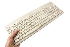Computer keyboard Stock Photography