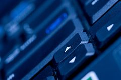 Computer keyboard #3 Royalty Free Stock Photography