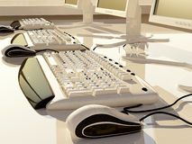The computer Stock Images
