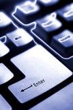 Computer keyboard Stock Image