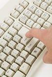 Computer keyboard Royalty Free Stock Photos