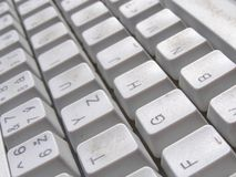 Computer keyboard background Royalty Free Stock Photos