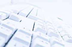 Computer keyboard background royalty free stock photography