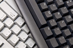 Computer Keyboard Background Image Stock Photo