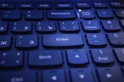 Computer Keyboard, Blue, Input Device, Technology stock photos