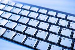 Computer Keyboard, Blue, Technology, Input Device stock image