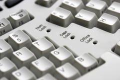 Computer keyboard - close-up Stock Photos