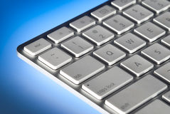 Computer keyboard closeup Stock Images