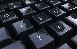 Computer keyboard closeup Royalty Free Stock Image