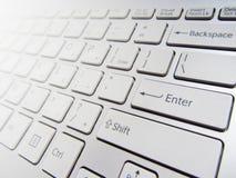 Computer keyboard Royalty Free Stock Photography