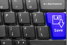 Computer keyboard concept Royalty Free Stock Photography