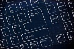 Computer keyboard design Royalty Free Stock Photos