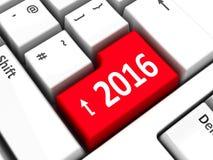 Computer keyboard 2016 #3 Stock Photos