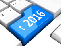Computer keyboard 2016 #4 Royalty Free Stock Photos