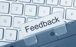 Computer keyboard feedback tab Stock Photos