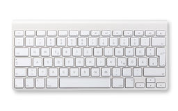 Computer keyboard isolated Stock Photos