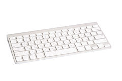 Computer keyboard. Isolated on white Royalty Free Stock Image