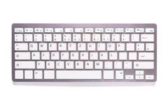 Computer keyboard isolated on white. Background Stock Photo