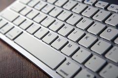 Computer keyboard keys close up Stock Photography
