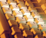 Computer Keyboard stock photo