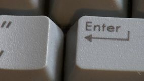 Computer Keyboard, Keys, Typing stock footage