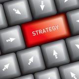 Computer keyboard marketing idea Stock Images