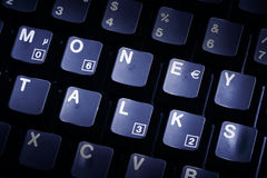 Free Computer Keyboard Money Talks Royalty Free Stock Photos - 14211098