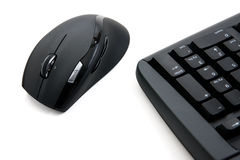Computer keyboard and mouse Stock Image
