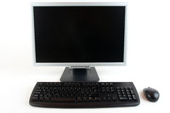Computer, Keyboard and Mouse Stock Images