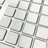 Computer keyboard non numbers Stock Photos