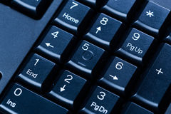 Computer keyboard numpad Stock Images
