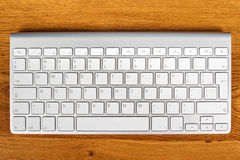 Computer keyboard on the table Royalty Free Stock Photo