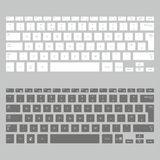 Computer keyboards Stock Photography