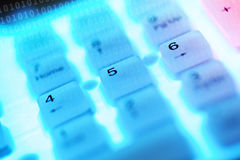 Computer keys Stock Photos