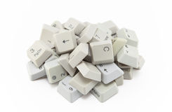 Computer keys Royalty Free Stock Photography