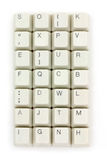 Computer keys. Close up for background Royalty Free Stock Photos