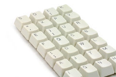Computer keys Royalty Free Stock Images