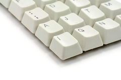 Computer keys Royalty Free Stock Photos