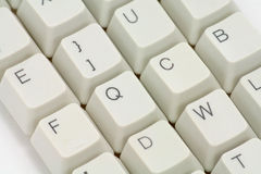 Computer keys. Close up for background Stock Image