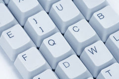 Computer keys. Close up for background Stock Photography