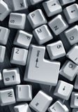 Computer keys Royalty Free Stock Image