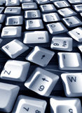Computer keys Royalty Free Stock Photo