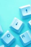 Computer keys Royalty Free Stock Photo