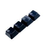 Computer keys arranged in word blog Royalty Free Stock Photos
