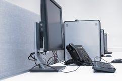 Computer lab. Royalty Free Stock Image